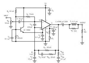 lm2876-power-audio-amplifier-circuit